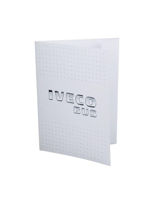 Image of IVECO BUS cardboard folder
