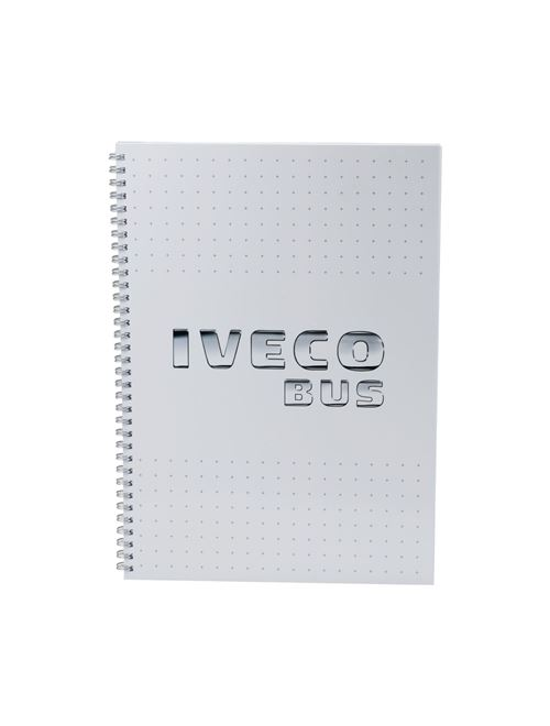 Image of IVECO BUS Spiral notebook A4