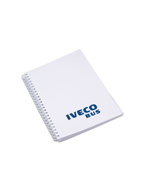 Image of Spiral-bound notebook A5