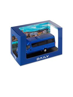 Image of BLUE DAILY MINIBUS TOURYS  Hi-MATIC - 1:43